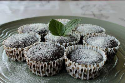 Csokis-mentás muffin