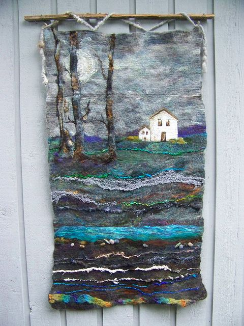 #2 White House by Deebs Fiber Arts, via Flickr