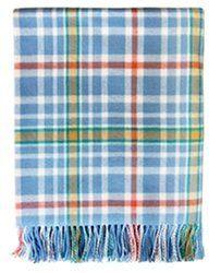 Peter Rabbit Tartan 100% Lambswool Blanket – Made In Scotland by Lochcarron