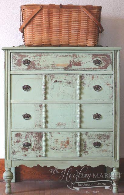 dresser / by The Heirloom Market / Miss Mustard Seed's Milk Paint