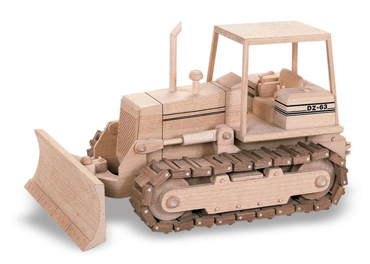 63 The Dozer Wood Toys Woodworking Furniture Wooden