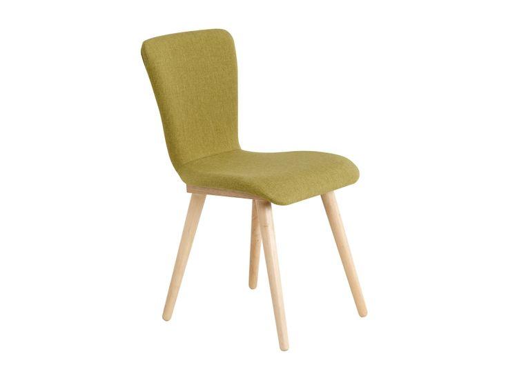 MILLER Stol Grønn/Natur i gruppen Innendørs / Stoler / Spisestuestoler hos Furniturebox (100-83-97024)