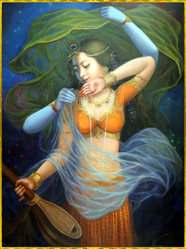 "I don't want learning, or dignity, or respectability. I want this music and this dawn, and the warmth of Your cheek, against mine. *Beloved Master Rumi""Q.S.A"" Artwork: Shiri Krishna and Radha Rani by Unknown ღஜღ•๋●♪~Love ~♪•๋●ღஜღ MODaline Productions"