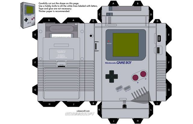 40 Amazing Papercraft Templates for the Geek Inside You