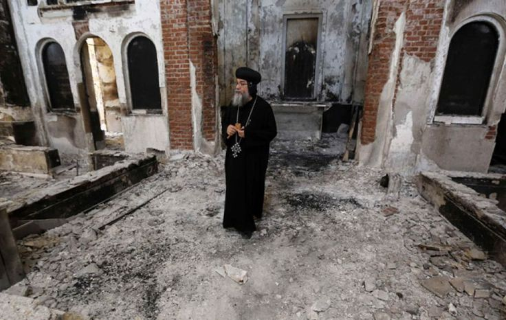 'YOU ARE A TARGET': MUSLIMS TERRORIZE COPTIC CHRISTIANS IN EGYPT - copticchurch.jpg
