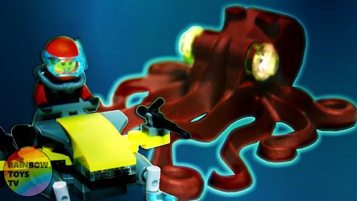 LEGO City - Deep Sea Scuba Scooter Stop motion Build video: https://youtu.be/pm_TM5q_J5E