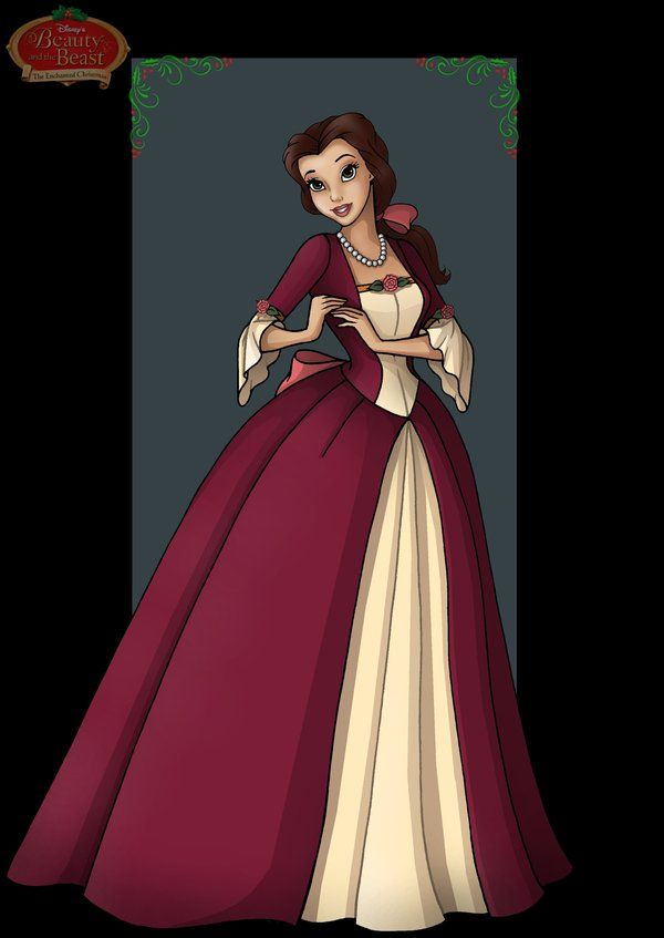 belle enchanted christmas by nightwing1975.deviantart.com on @deviantART