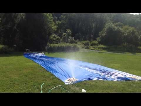 english homemade water slides - Google Search