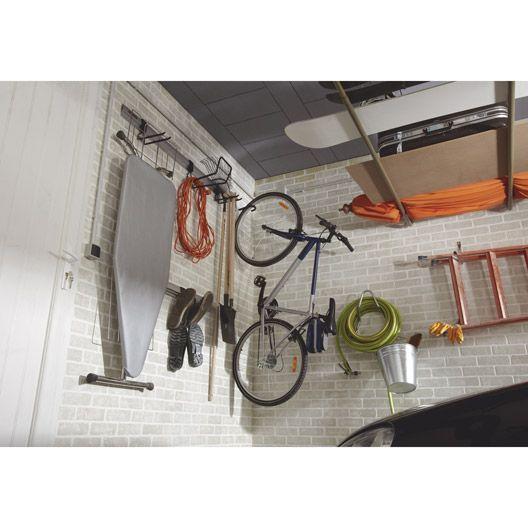 Crochet porte-vélo gaîné