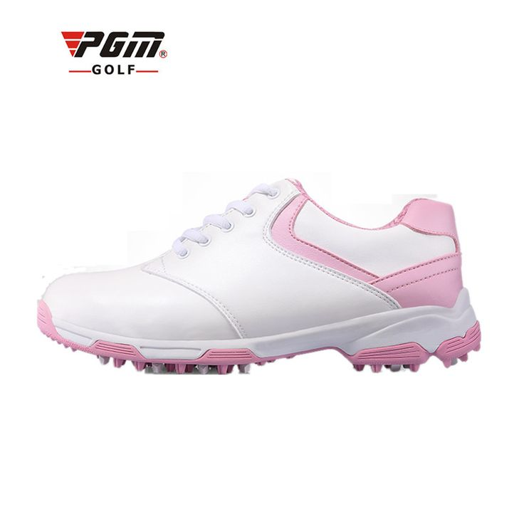 PGM Women Outdoor golf sport shoes design patent golf shoes anti-skid spikes female models breathable waterproof Golf Sneakers