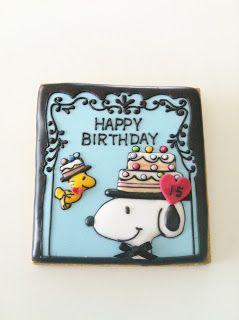 Snoopy & Woodstock  Cookie