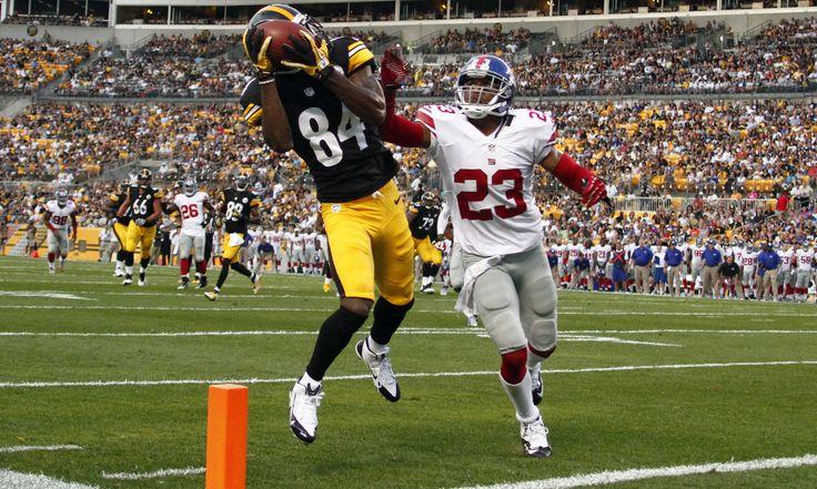Antonio Brown, Steelers Draft Antonio Brown,