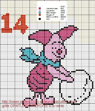 Piglet x-stitch