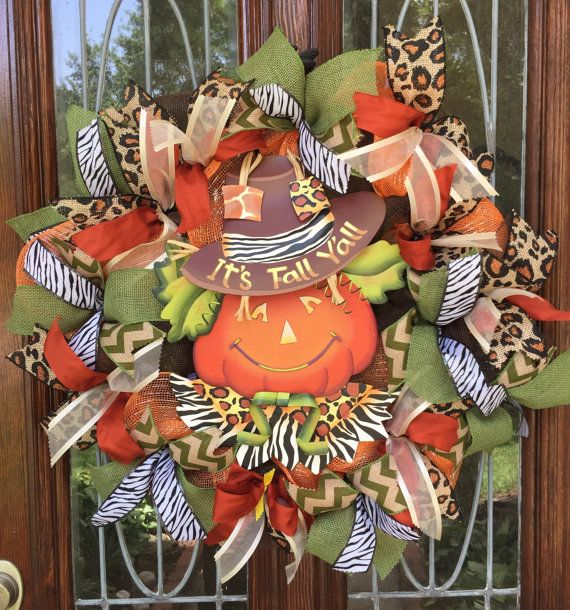 Its fall yall! Its never to early start celebrating pumpkins, cooler weather and football season!!🍂 Order yours just in time for fall! Approximately 25-26 wide Metal pumpkin sign $75  FOLLOW ME ON Instagram and FACEBOOK. Link below  https://m.facebook.com/profile.php?id=124174494581792&tsid=0.2982380969915539&source=typeahead  I have been designing and crafting for over 30 years. ALL MY WREATHS ARE SPRAYED WITH COAT OF UV RESISTANT SEALER TO HELP EXTEND ...