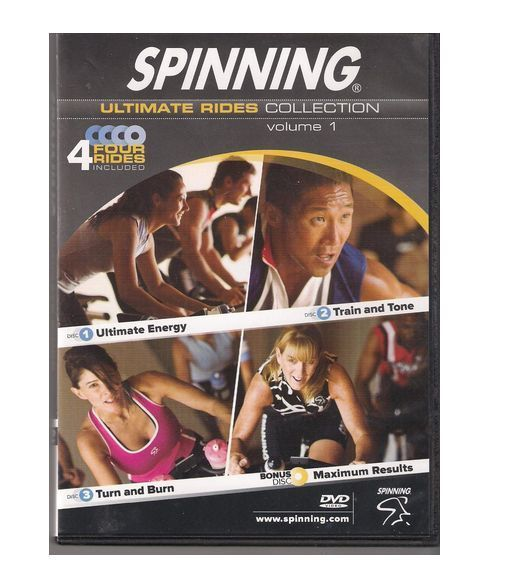 Spinning Ultimate Rides Collection Volume 1 - 4 Discs with Four Rides Included