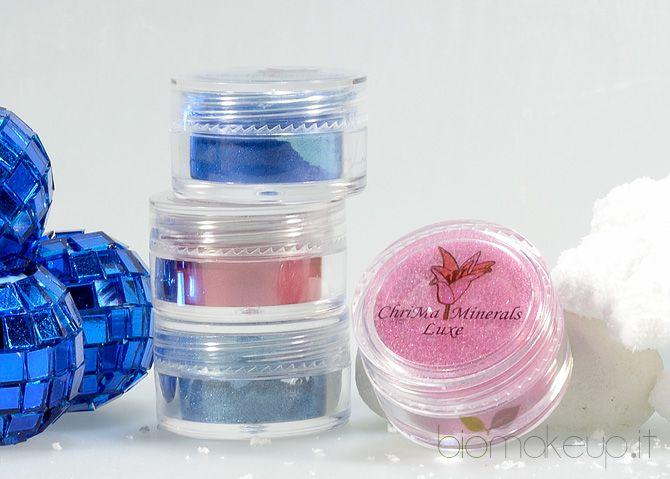 Chrimaluxe Minerals produce splendidi ombretti, fondotinta, blush e ciprie…