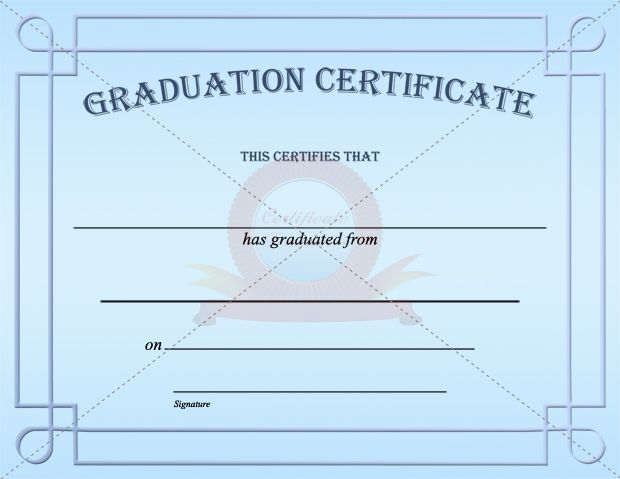 20 Best Graduation Certificate Templates Images On Pinterest