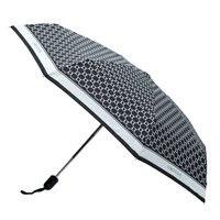 Oroton signature small umbrella, black.