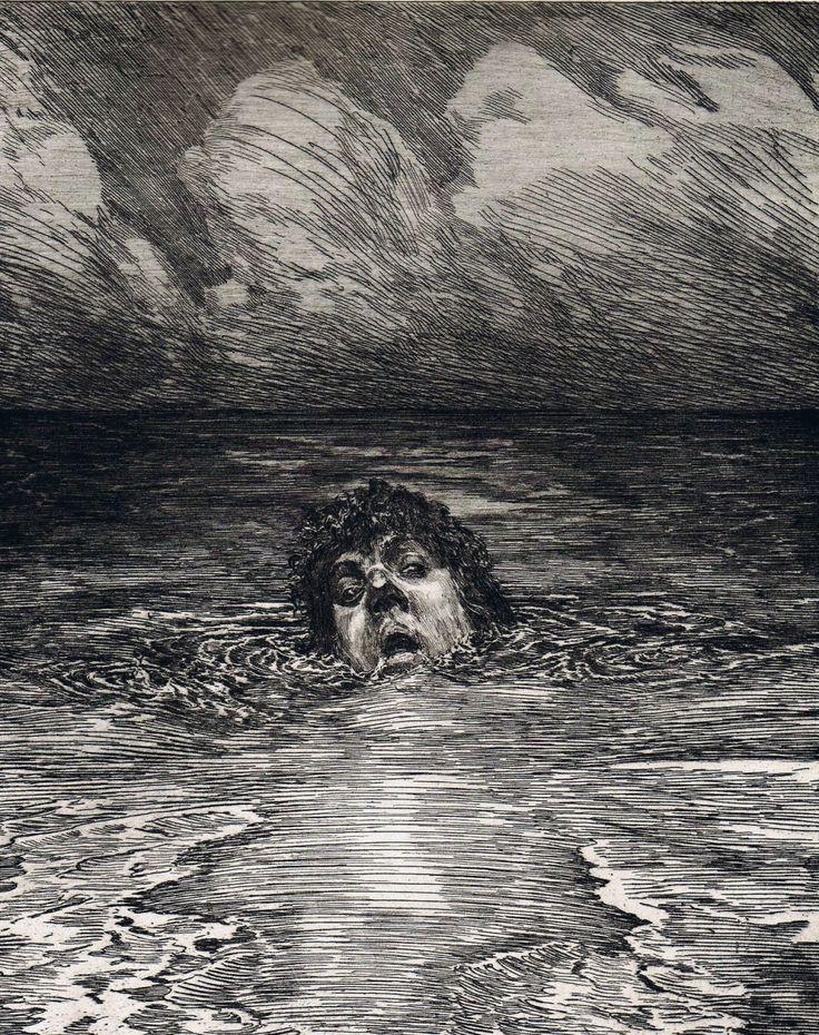 Max Klinger Upadek, 1884