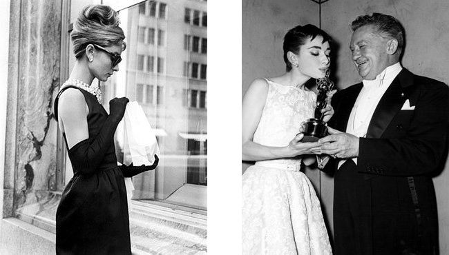 The Life Lessons Of Audrey Hepburn / Ruche Blog. Image one: Copyright © Paramount Pictures.  Image two: Tommy Weber, Audrey Hepburn Estate Collection.