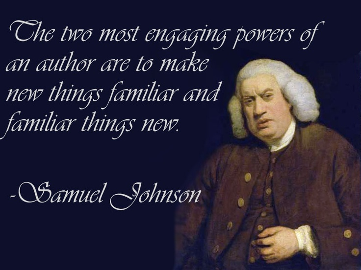 Samuel Johnson Critical Essays