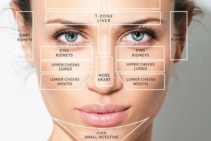 facial map