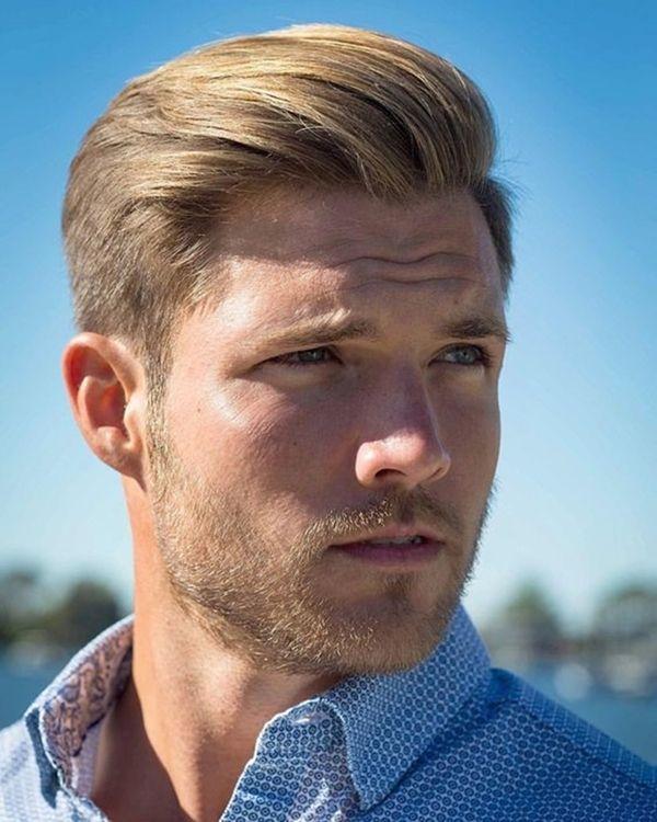45 Good Hairstyles For Blonde Men To Look Handsome Fashiondioxide Men Blonde Hair Blonde Guys Blonde Beard