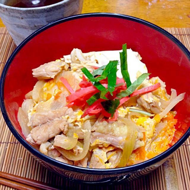 烏骨鶏と鶏だから、本当は他人丼 - 17件のもぐもぐ - 鶏せせりと烏骨鶏の親子丼 by mayuwo