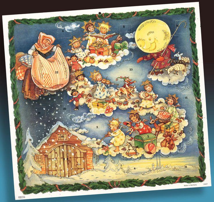 Krueger Christmas Tree Farm: 777 Beste Afbeeldingen Over Vintage Adventkalender And