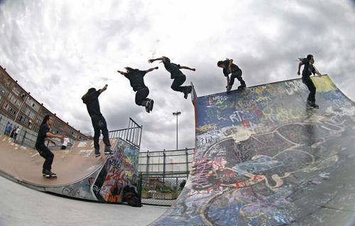 Razors Aggressive Skates pro shot