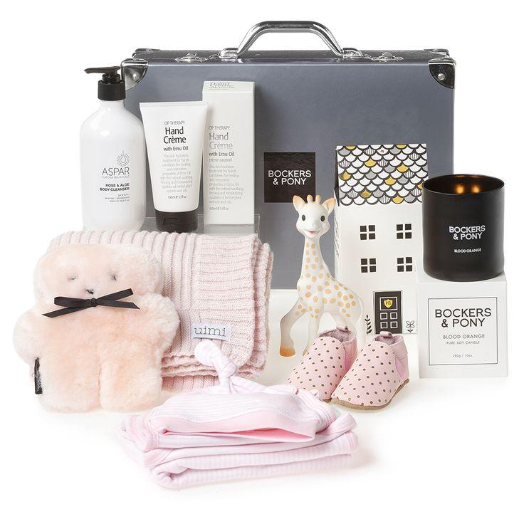 Splendid Baby Luxury Hamper | Luxury Baby Gift Hampers - Bockers and Pony
