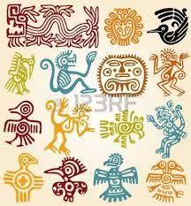 simbolos mayas - Google Search  Hay muchos simbolos