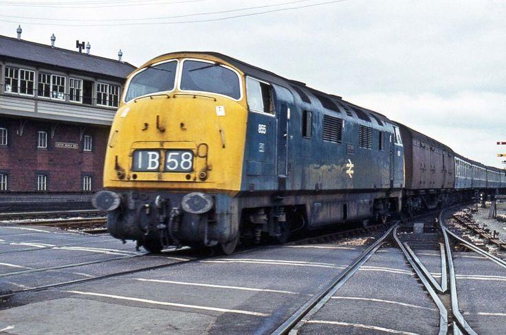 Railway Herald :: Imaging Centre :: 855 at Exeter St Davids