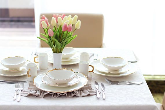 Hey, I found this really awesome Etsy listing at https://www.etsy.com/listing/549305630/free-ship-set-of-4-sets-dinnerware