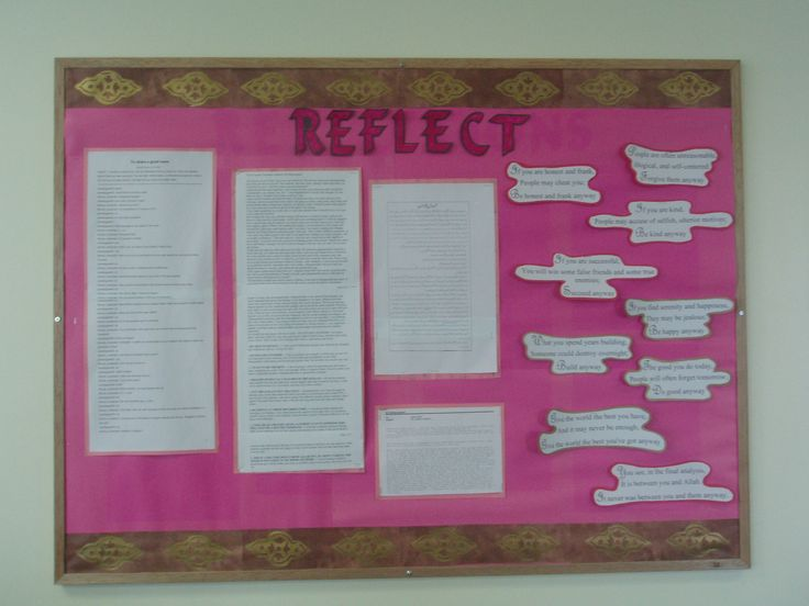Reflections by Students!