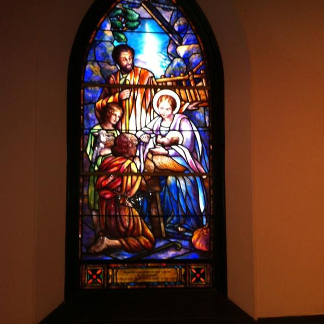 One Of 12 Tiffany Stained Glass Windows In Trinity Episcopal Church Staunton VA