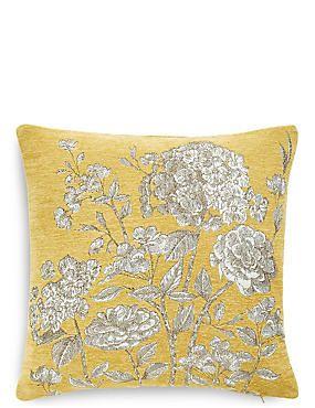 Floral Toile Cushion