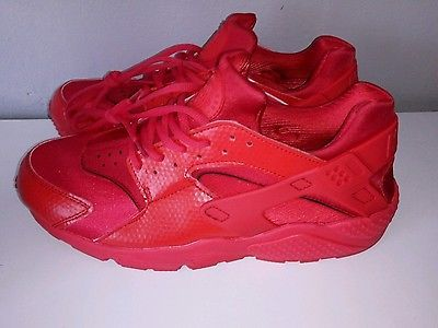 chaussures Nike air huarache rouge taille 43 #chaussure #basket  #homme #mode #nike
