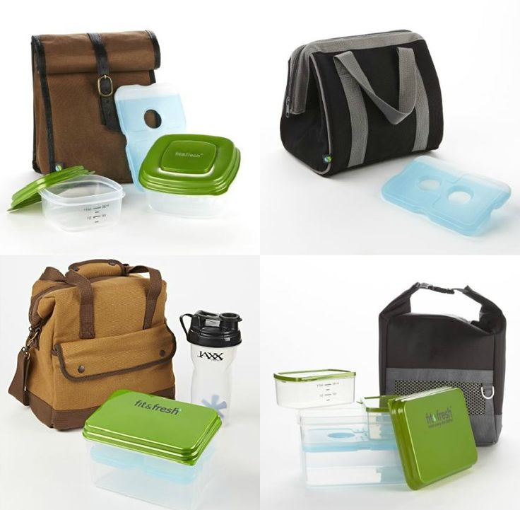 Versatile and durable lunch bags for men are designed to keep lunches fresh! Perfect for bringing to the job site or the office and available in rugged, sporty and classic designs. View the entire collection today at www.Fit-Fresh.com  #lunchstyle