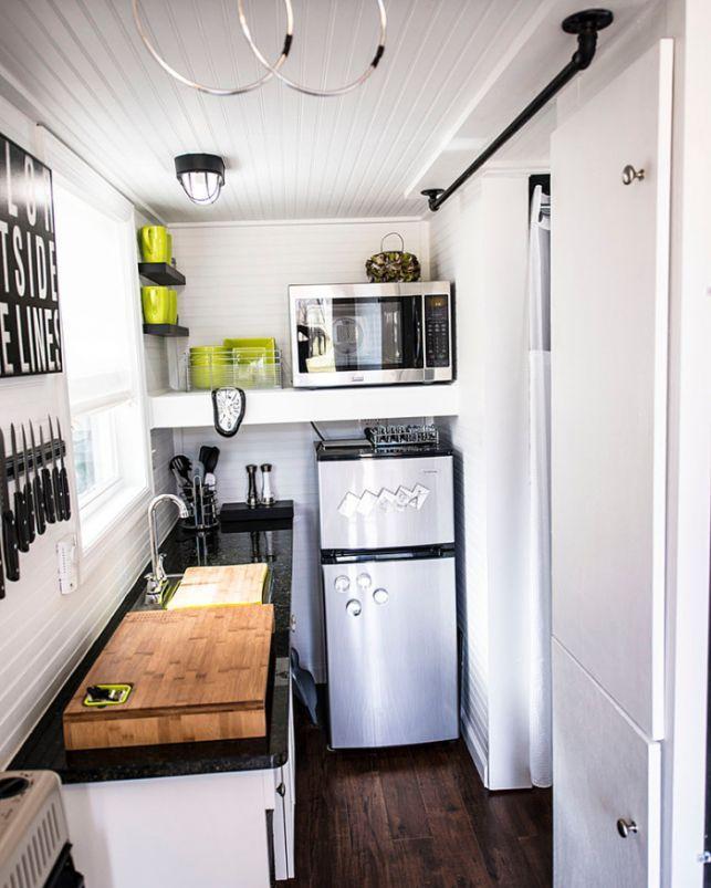 10 idei pentru bucatarii mici- Inspiratie in amenajarea casei - www.povesteacasei.ro