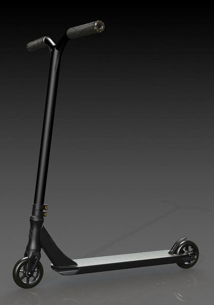 Ethic Complete Pro Scooters | Polished | Black | White