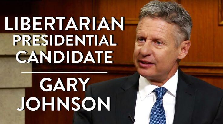 Libertarian Presidential Candidate Gary Johnson (Full Interview)