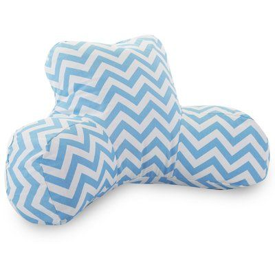 Viv + Rae Aspen Bed Rest Pillow Color: Tiffany Blue
