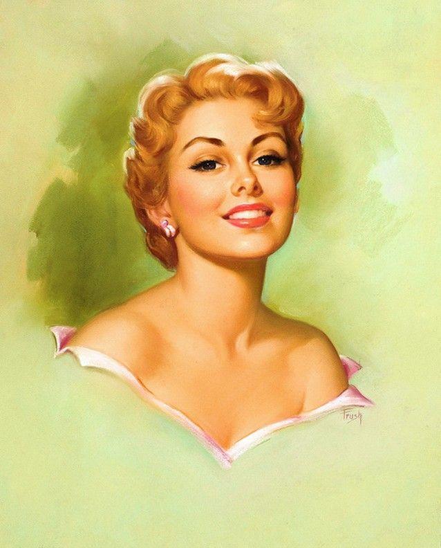 Pearl Frush via flickr    Vintage pin-up girl.  #vintagepinupgirl #pinupgirls #vintage  Have fun! - XOXO, Jomadado.com