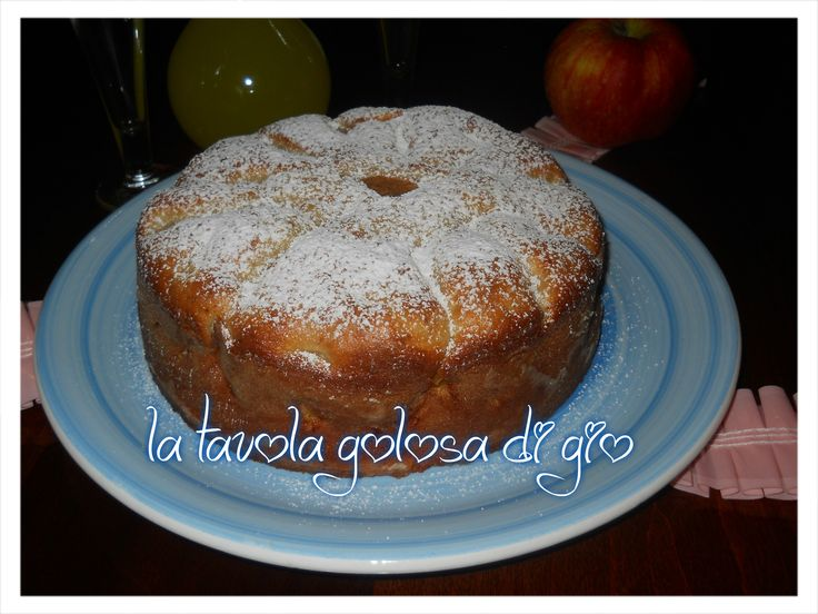torta  di mele mascarpone e cannella