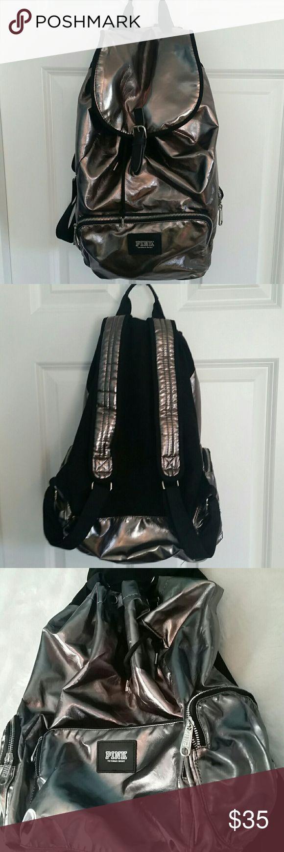 25 best ideas about kipling backpack on pinterest school handbags - Nwot Pinj Vs Metallic Silver Backpack Never Used Victoria Secret Backpack Fabric