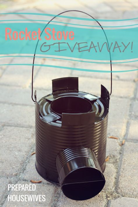 How to Build a Rocket Stove to Impress the Boys ;) | Prepared Housewives