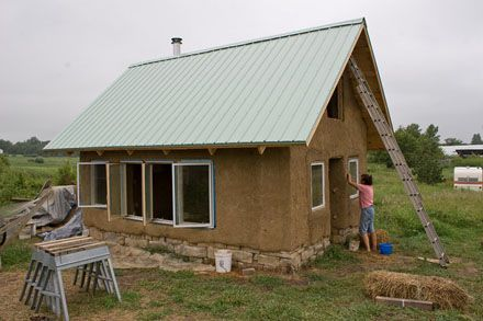 How to Build a Cob House A $7,000 House Made of Earth