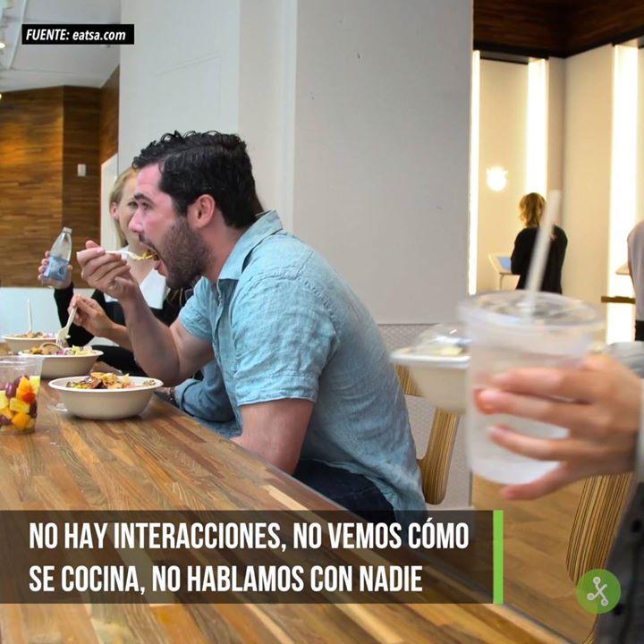 'Eatsa': un restaurante en el que no hay cajeros, ni camareros, ni interacción social.