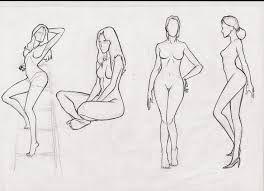 Výsledek obrázku pro female body drawing reference